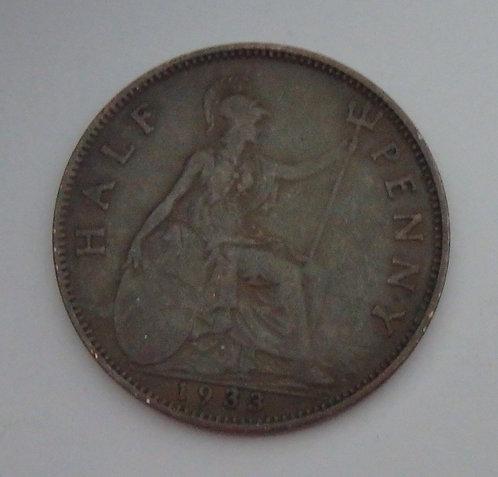 Great Britain - Half Penny - 1933