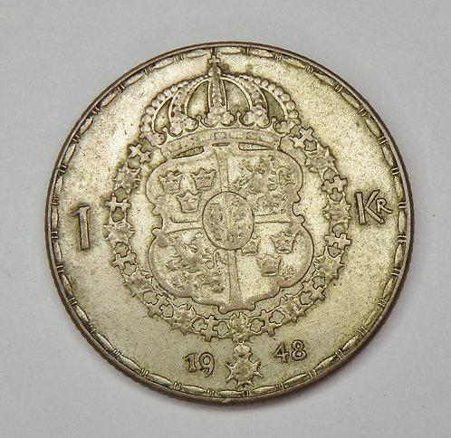 Sweden - Krona - 1948-TS