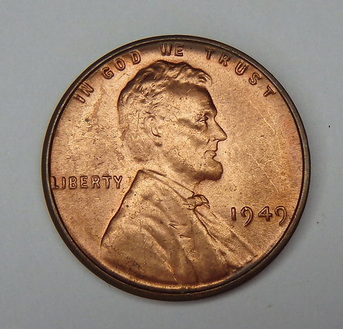 1949 Wheat Cent