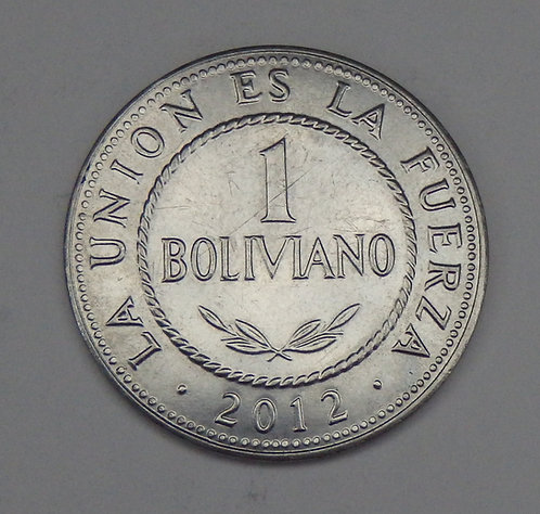 Bolivia - Boliviano - 2012