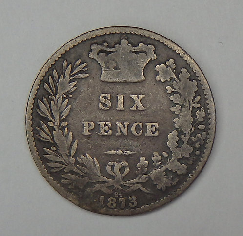 Great Britain - 6 Pence - 1873