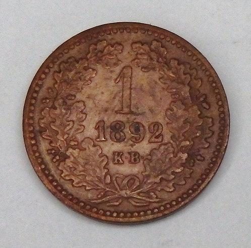 Hungary - Krajczar - 1892