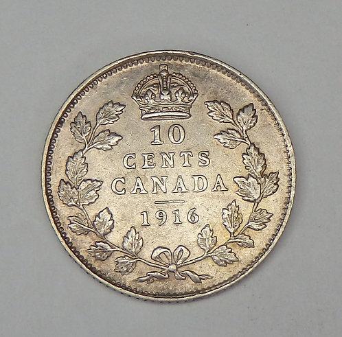 Canada - Dime - 1916