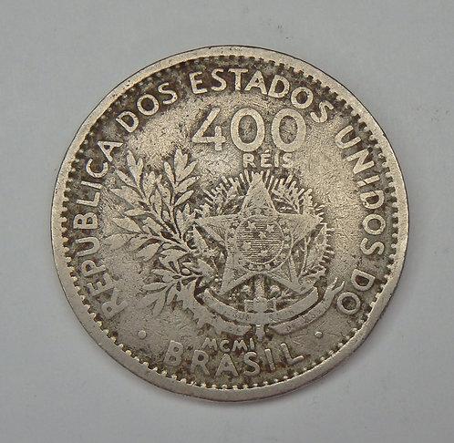 Brazil - 400 Reis - 1901