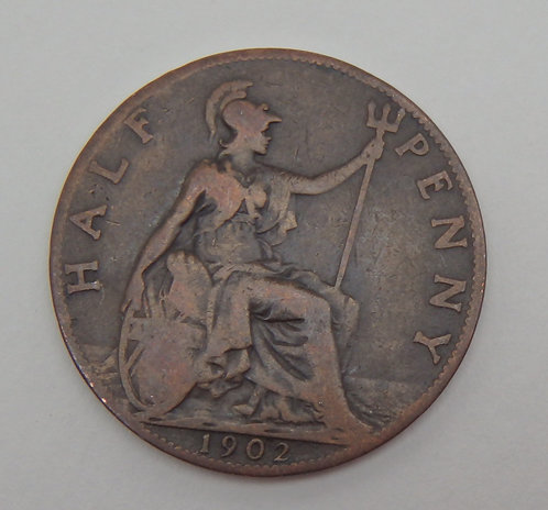 Great Britain - Half Penny - 1902