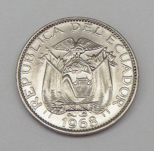 Ecuador - 10 Centavos - 1968