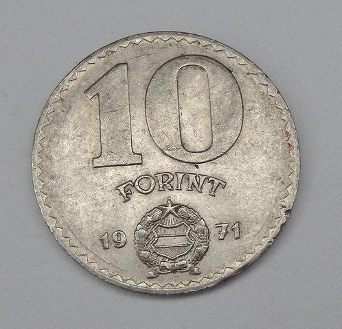 Hungary - 10 Forint - 1971