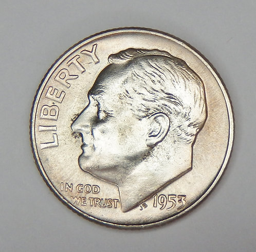 1953-D Roosevelt Dime