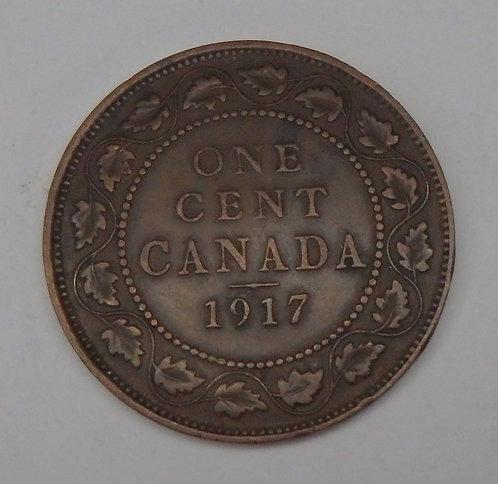 Canada - Cent - 1917