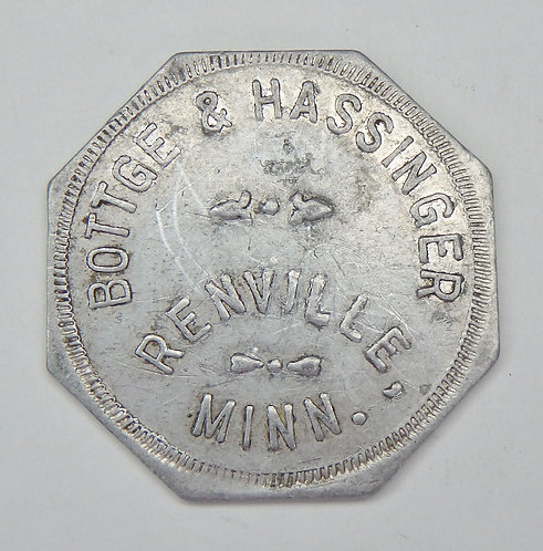 Minnesota, Renville - Bottge & Hassinger Token