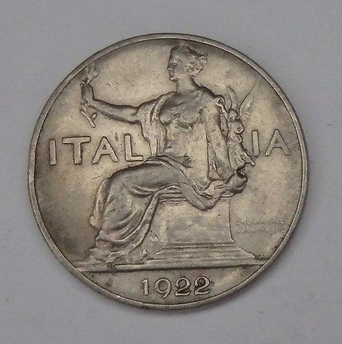 Italy - Lira - 1922R