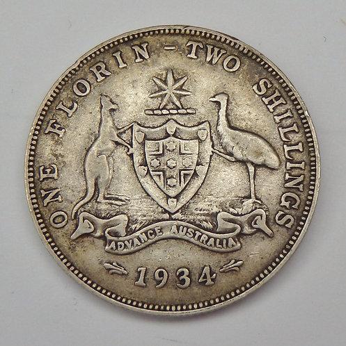 Australia - Florin - 1934
