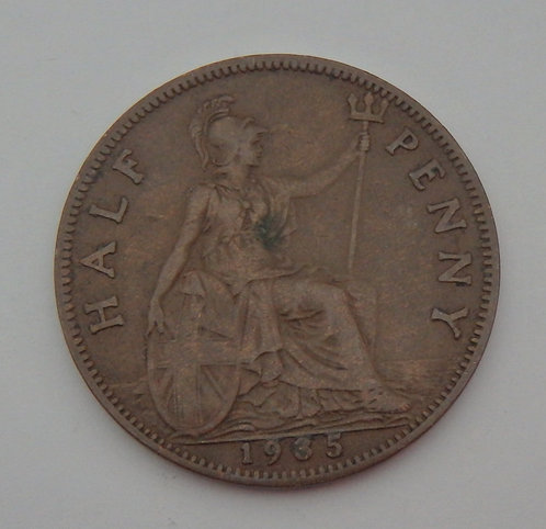 Great Britain - Half Penny - 1935