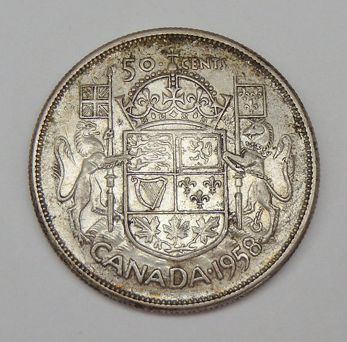Canada - 50 Cents - 1958