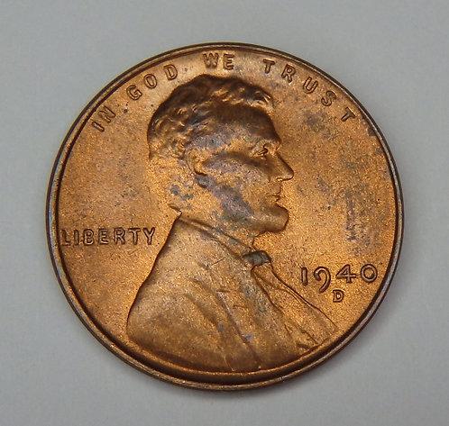 1940-D Wheat Cent