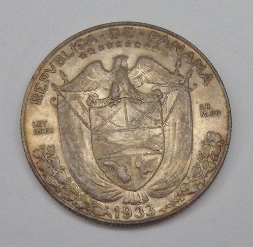 Panama - Half Balboa - 1933