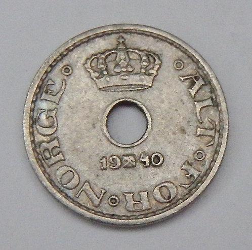Norway - 10 Ore - 1940