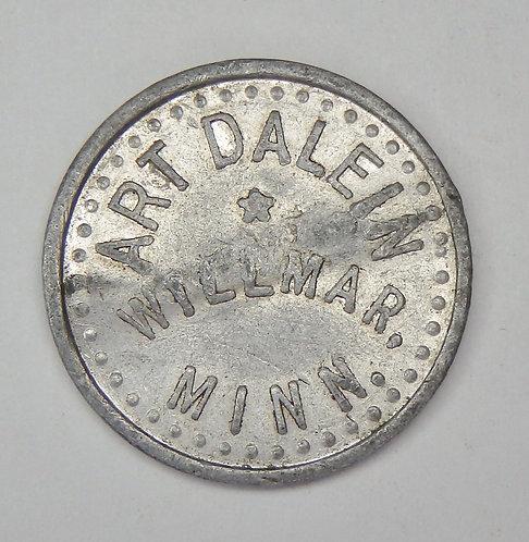 Minnesota, Willmar - Art Dalen Token