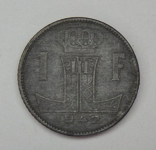 Belgium - Franc - 1942