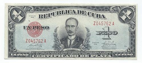 Cuba - Peso - 1949