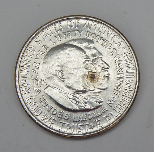 1952 Washington-Carver Commemorative Half Dollar
