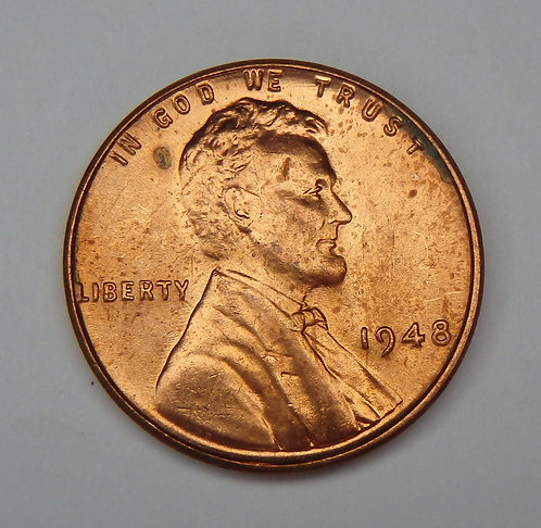 1948 Wheat Cent