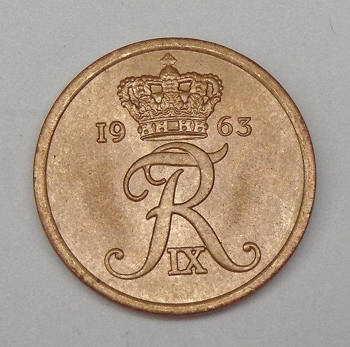 Denmark - 5 Ore - 1963