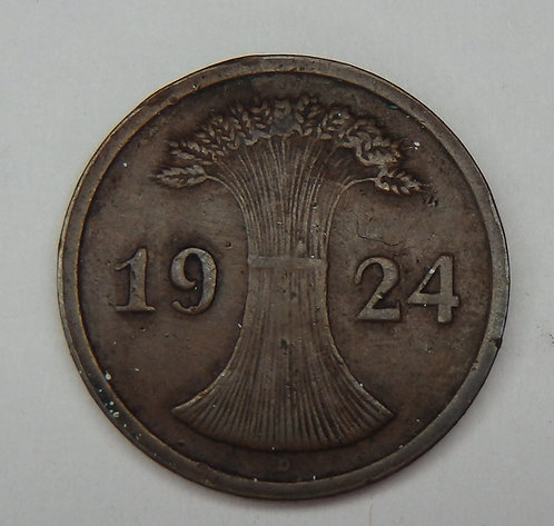 Germany - 2 Retenpfennig - 1824-D