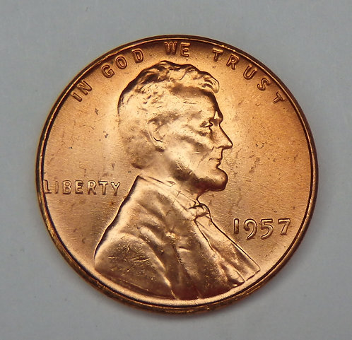 1957 Lincoln Cent