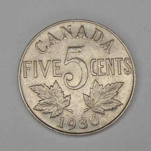 Canada - Nickel - 1930