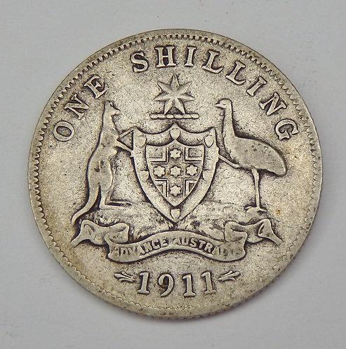 Australia - Shilling - 1911