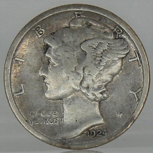 1924-S Mercury Dime