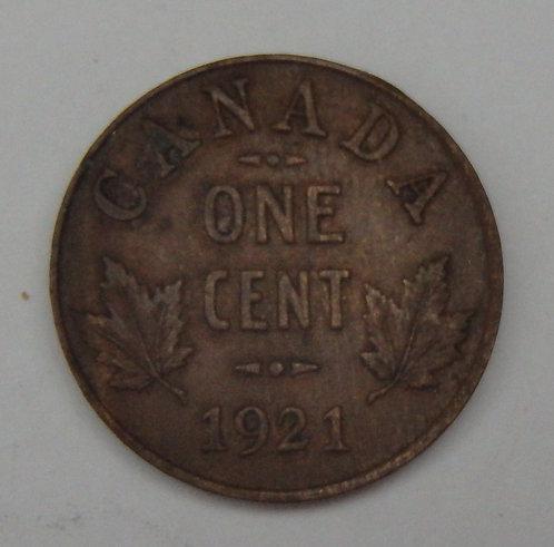 Canada - Cent - 1921