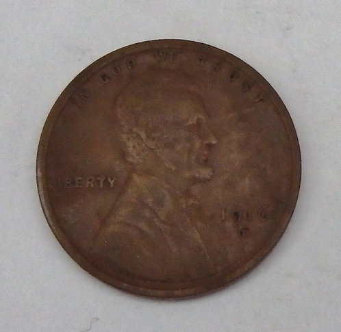 1916-D Lincoln Cent