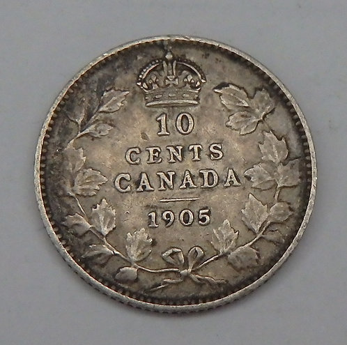 Canada - 10 Cents - 1905
