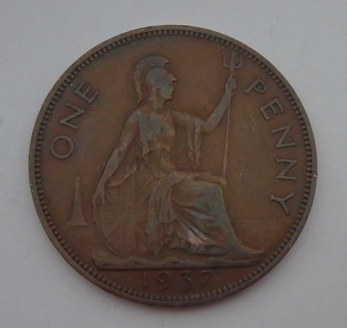 Great Britain - Penny - 1937