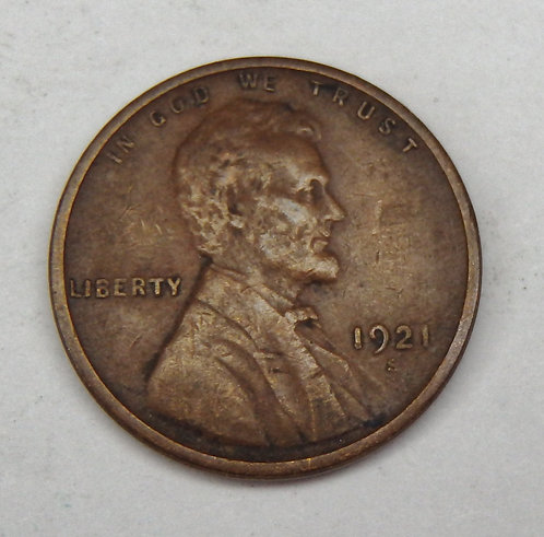 1921-S Lincoln Cent