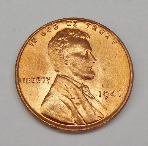 1941 Lincoln Cent