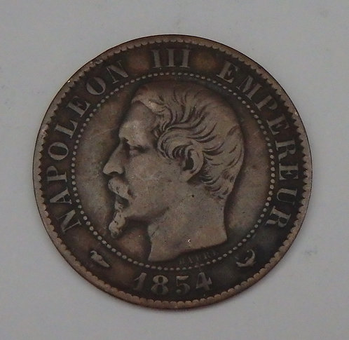 France - 5 Centimes - 1854W