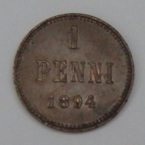 Finland - Penni - 1894