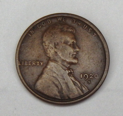 1920-S Lincoln Cent