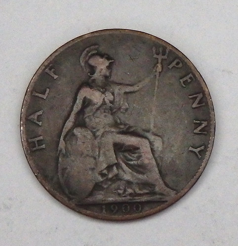 Great Britain - Half Penny - 1900