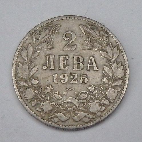 Bulgaria - 2 Leva - 1925