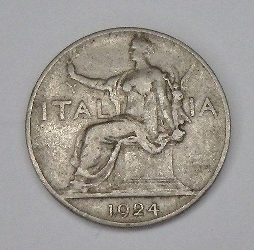 Italy - Lira - 1924R
