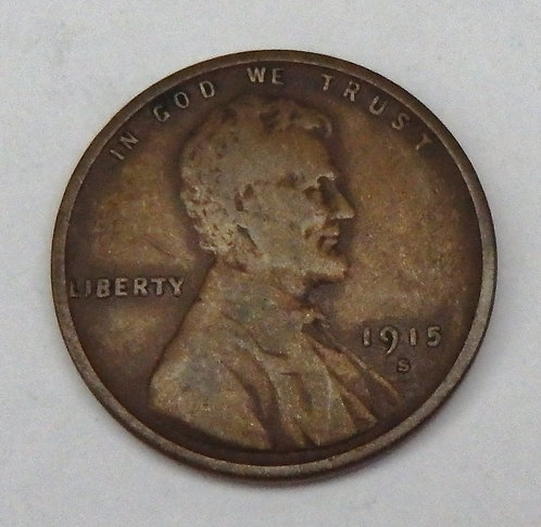 1915-S Wheat Penny
