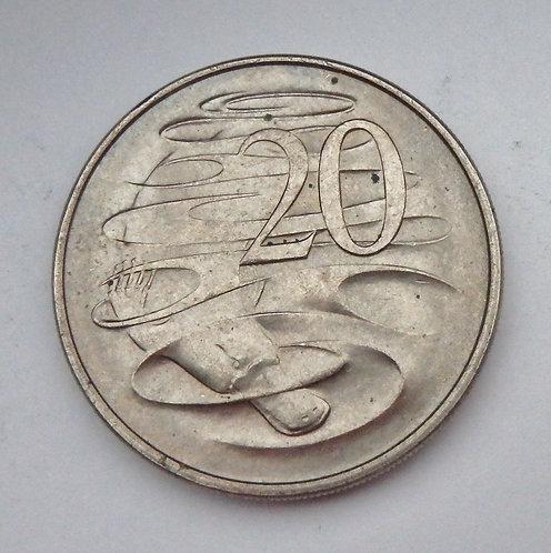 Australia - 20 Cents - 1967