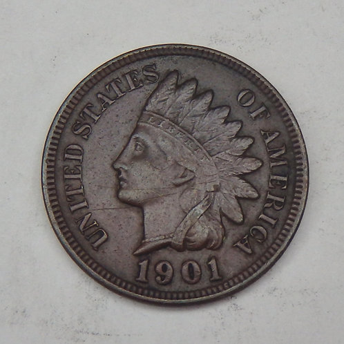1901 Indian Head Cent