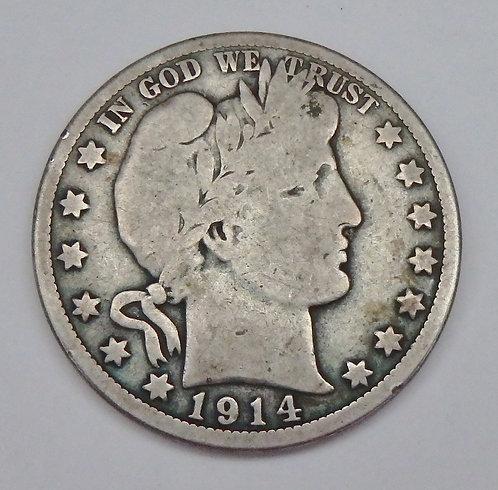 1914-S Half Dollar