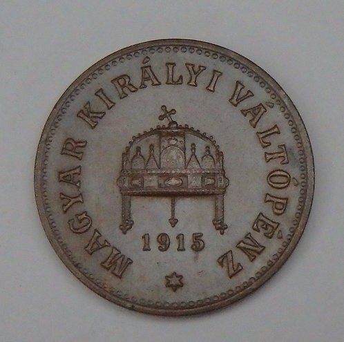 Hungary - 2 Filler - 1915KB