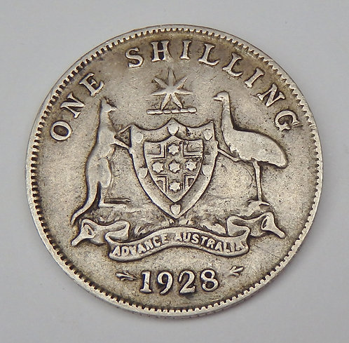 Australia - Shilling - 1928